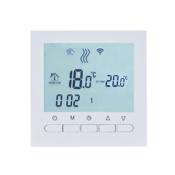 Termostat WiFi pentru centrala termica pe gaz si incalzire in pardoseala BeOk BOT-313WiFi 8