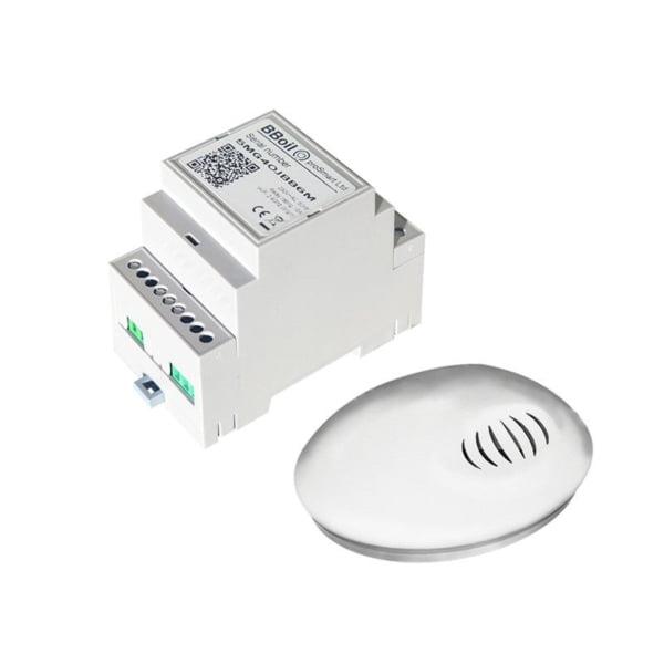 Termostat COMPUTHERM B300RF Wi-Fi cu senzor de temperatura fara fir, Timer, Control de pe telefonul mobil, Distribuire control acces 4