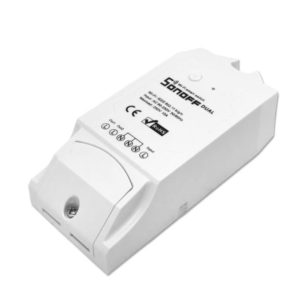 Releu Wireless Wi-Fi doua canale 10A SONOFF DUAL R2 1