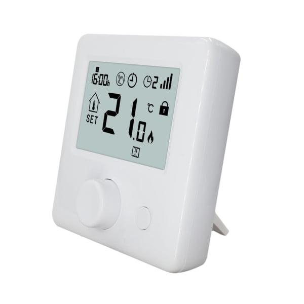 Termostat Inteligent XSMWT-18 Portabil WiFi+RF, pentru centrale pe gaz, incalzire in pardoseala, compatibil Amazon Alexa si Google Home 2