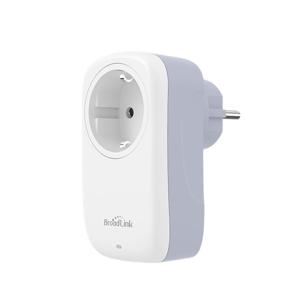 Priza inteligenta BroadLink SP4L-EU Model 2020 Wi-Fi 16A Programabila Control aplicatie si lumina de veghe